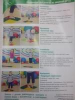 Список упражнений на орто ковриках 2