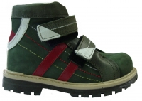 Ботинки Minitin 500-10 зеленые