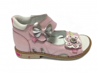 Minitin  сандали 100 43-13 (26-30) розовые