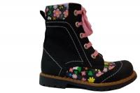 Ботинки Minitin 910 черные (26-30)