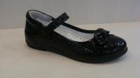 Mini-shoes 660-90 черн.туфли(31-36)