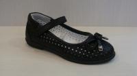 Mini-shoes 650-50 черн. туфли (26-30)