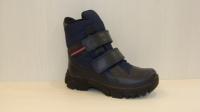 Ботинки Mini-shoes L510 син.шерсть(32-36)