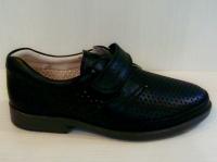 Mini-shoes туфли 402-МС черная кожа (37-40)