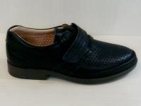Mini-shoes туфли 402-МС темно-синяя кожа (31-36)