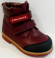 Mini-Shoes ботинки 505-MS терракотовый (26-30)