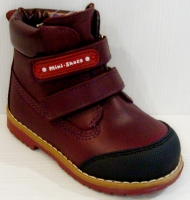 Mini-Shoes ботинки 505-MS терракотовый (31-36)
