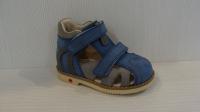 Mini-Shoes 201 - MS джинс / серый сандали орт (21-25)