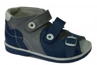 baby-ortho сандали миша 1.1 сине-серые  (25-27)