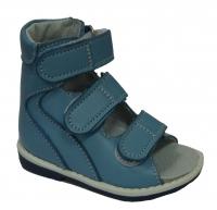 baby-ortho сандали берец 1.6 голубые (18-22)