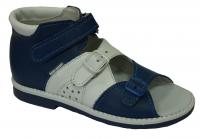 baby-ortho сандали егорка 11 сине-белые (28-30)