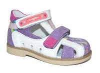 TWIKI сандали TW-205 бело-фиолетовый (21-25)