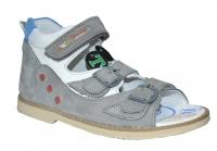 TWIKI сандали TW-111  серый (31-33)