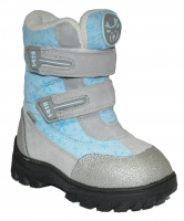 I-GLU 906-10  голубой/серебро (25-32)