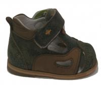 Minitin  сандали  закрытые хаки 181 120-13 (16-20)