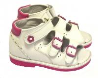 baby-ortho сандали марта 2 белые (18-24)