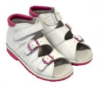 baby-ortho сандали егорка 8 белые (25-27)